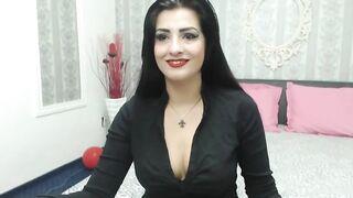 Busty brunette SonyaReid