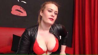 DirrtyDiana18 big tits in red bra